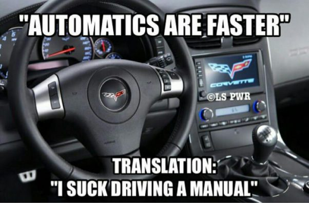 Automatics are Cool